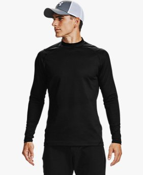 Men's ColdGear® Infrared Long Sleeve Golf Mock